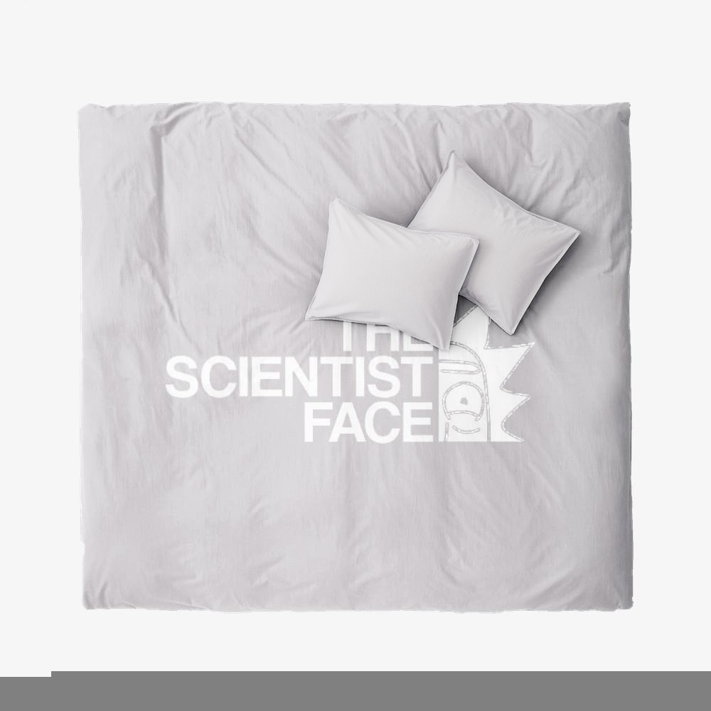 The Scientist Face, Rick And Morty Duvet Cover Set