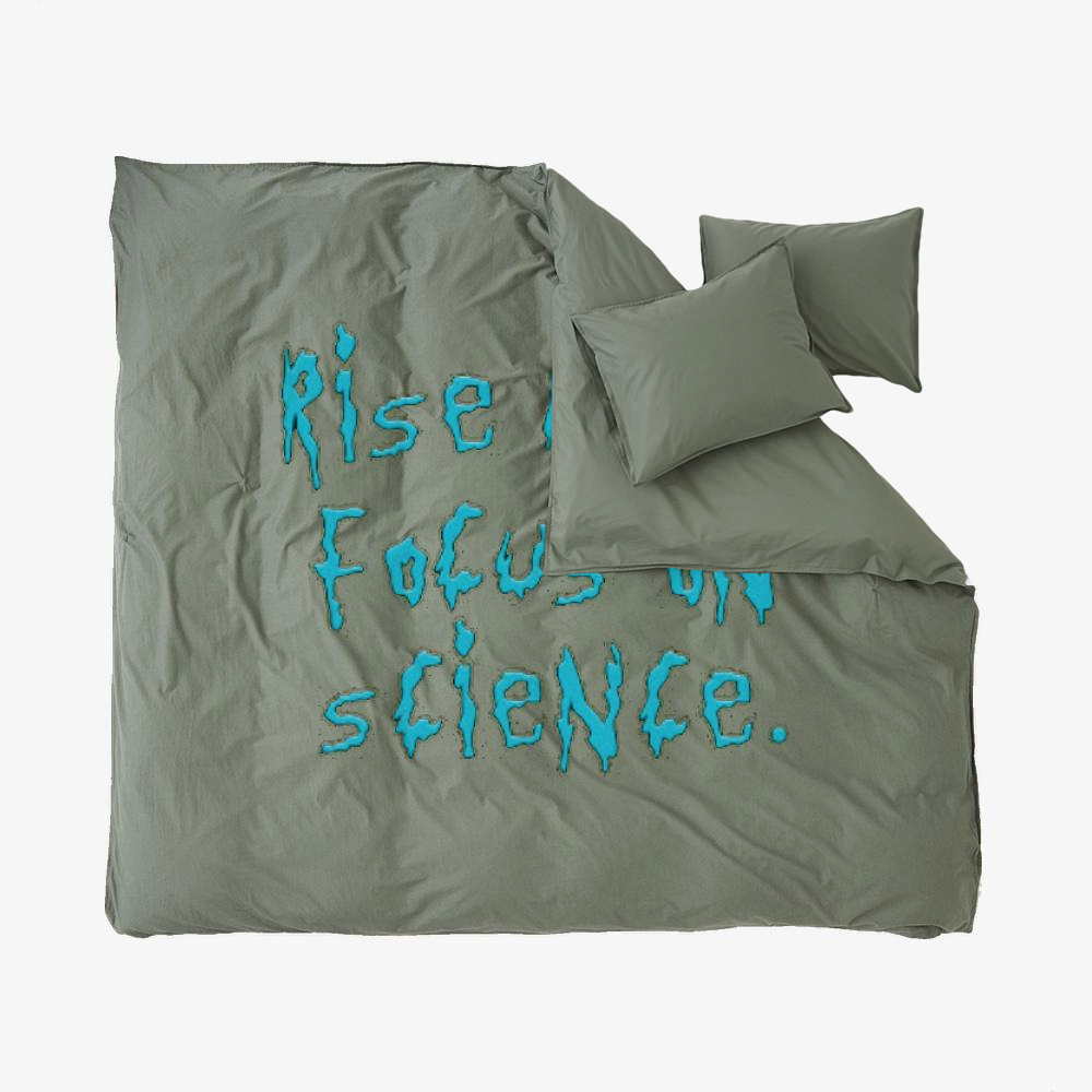 Rise Above Focus On Science, Rick And Morty Duvet Cover Set
