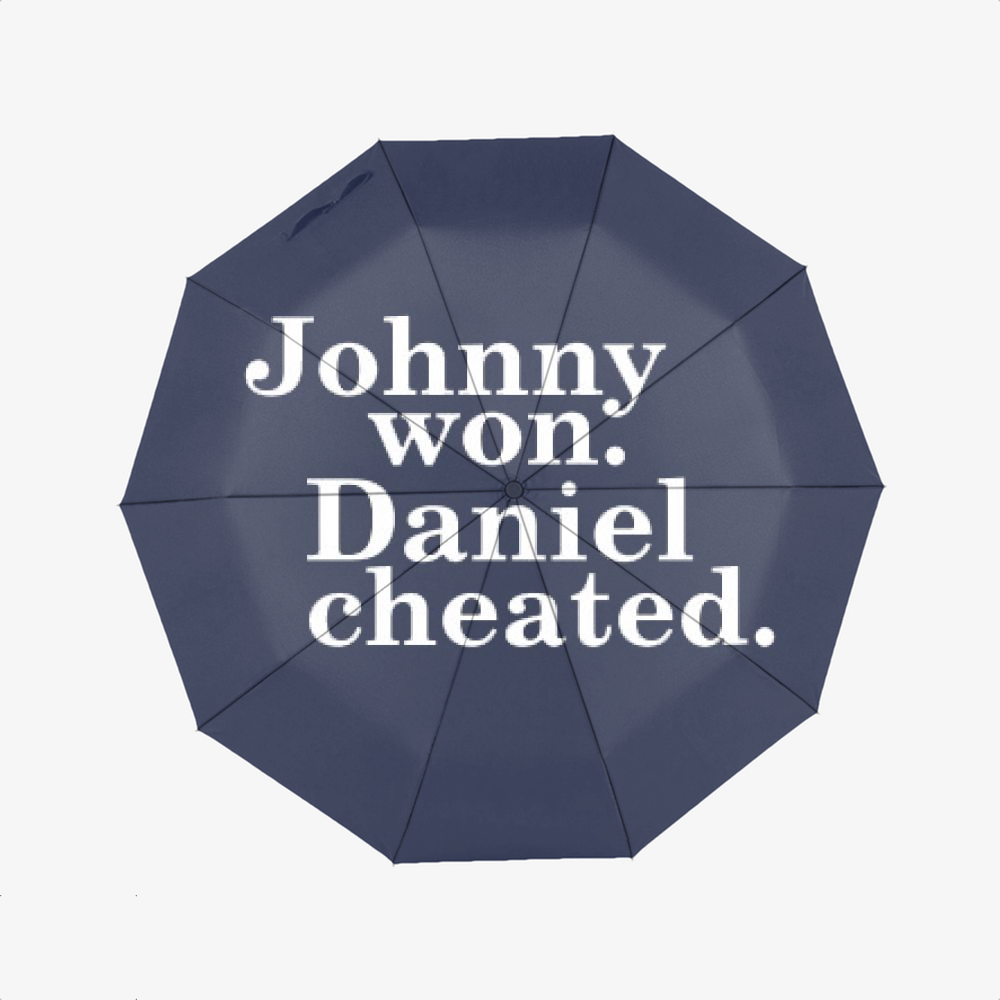 Daniel Cheated, The Karate Kid Classic Umbrella