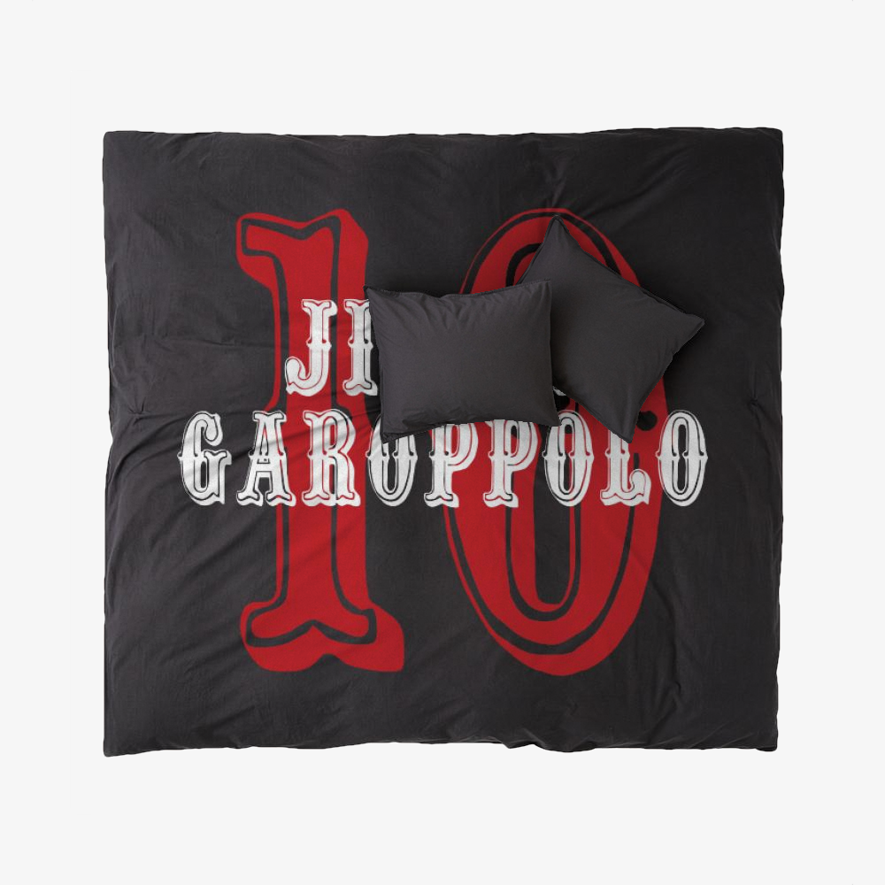 The Goat, Jimmy Garoppolo Duvet Cover Set