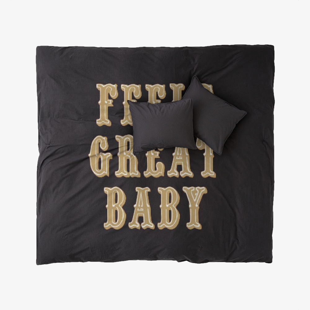 Feels Great Baby, Jimmy Garoppolo Duvet Cover Set