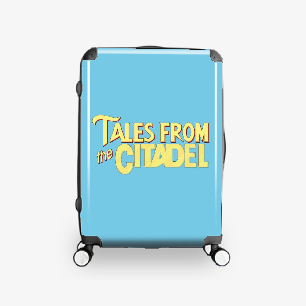 Tales From The Citadel, Rick And Morty Hardside Luggage