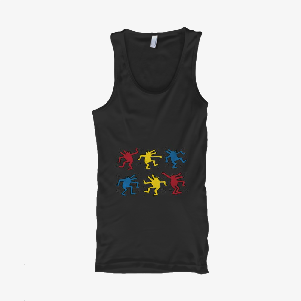 Dogs Dacing, Keith Haring Classic Tank Top
