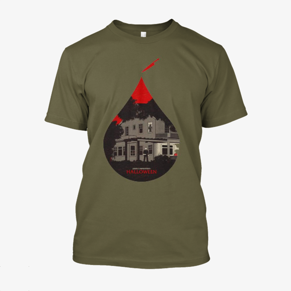 Halloween, Horror Film Cotton T-Shirt