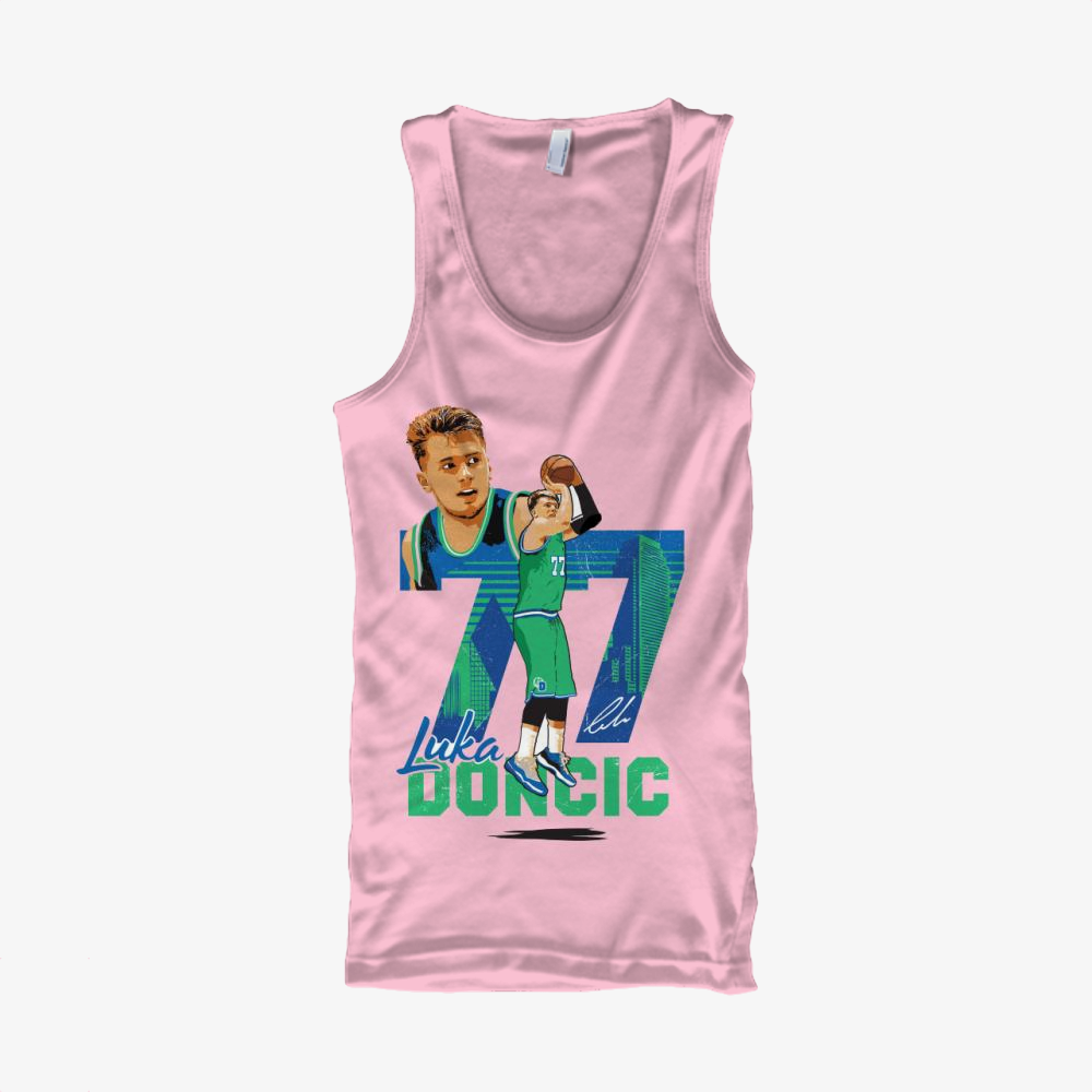 Luka Doncic, National Basketball Association Classic Tank Top