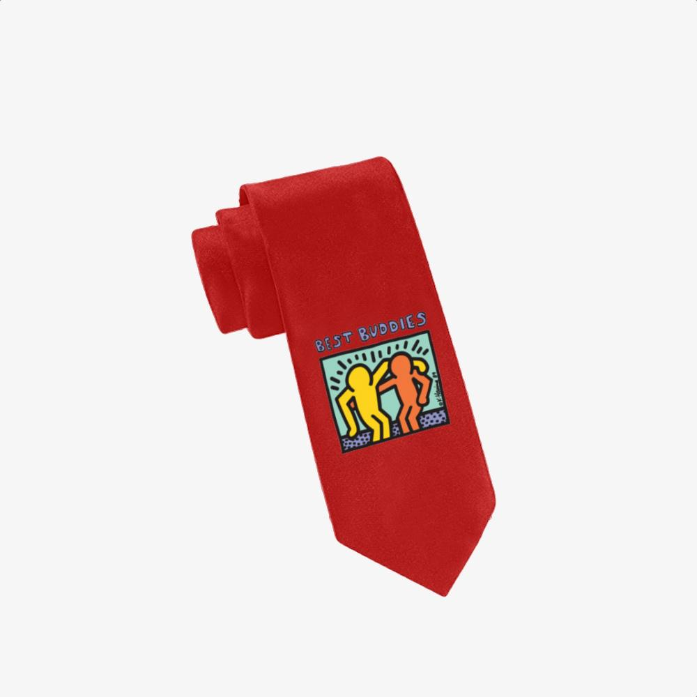 Best Buddies, Keith Haring Twill Silk Tie