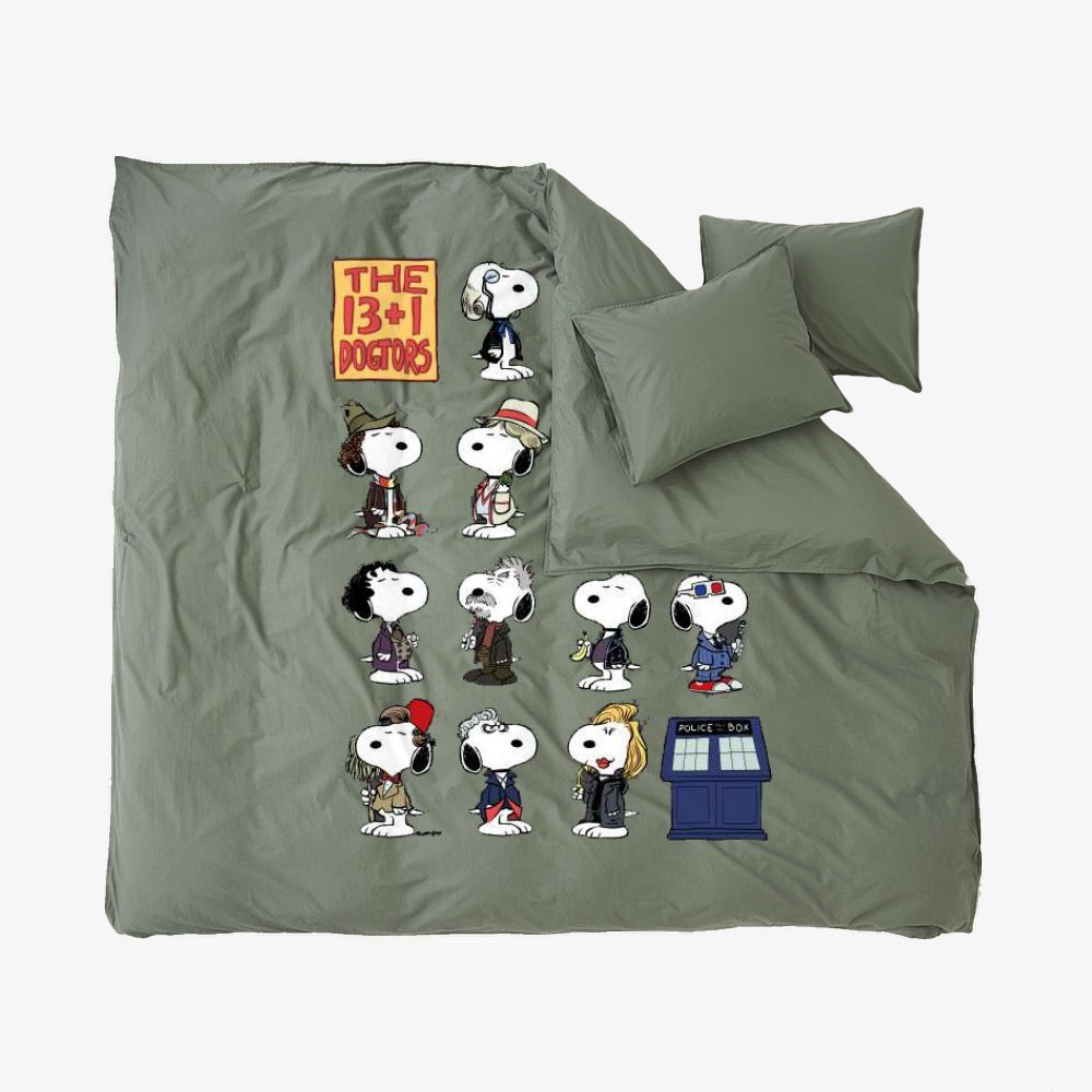 The 13 1 Dogtors, Snoopy Duvet Cover Set