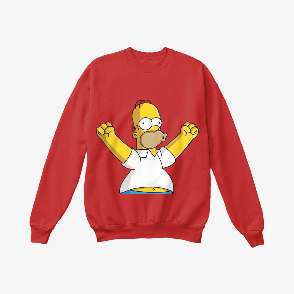 Woohoo!, The Simpsons Crewneck Sweatshirt