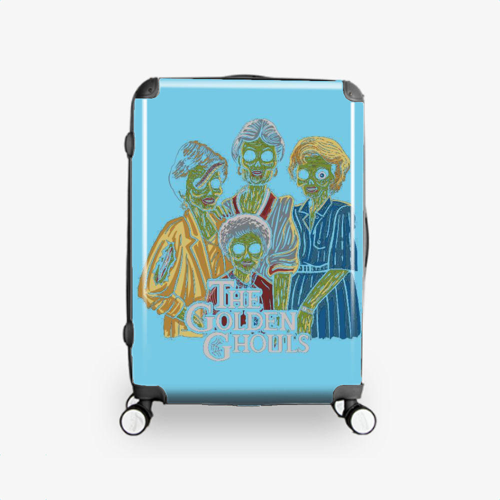 The Golden Ghouls, Horror Film Hardside Luggage