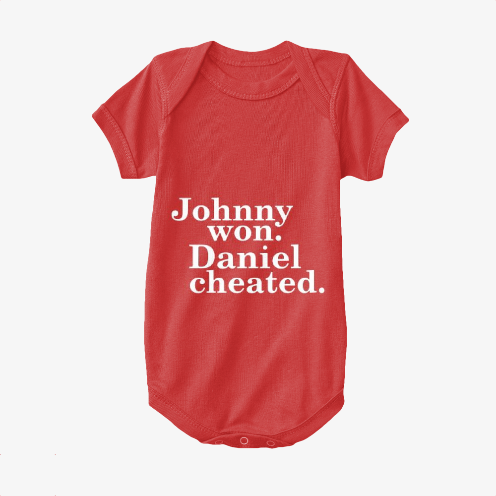 Daniel Cheated, The Karate Kid Baby Onesie