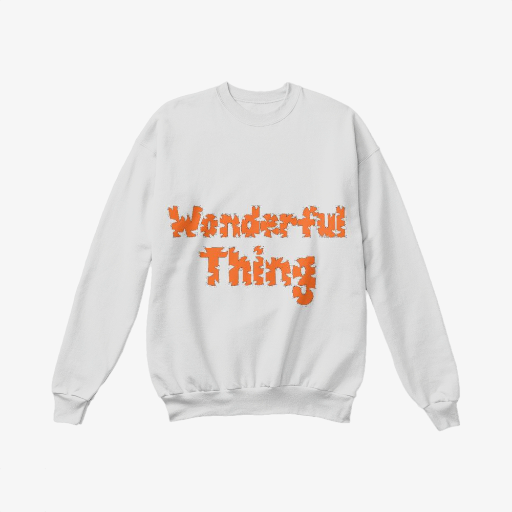 The Wonderful Thing About Tiggers, Winnie-the-pooh Crewneck Sweatshirt