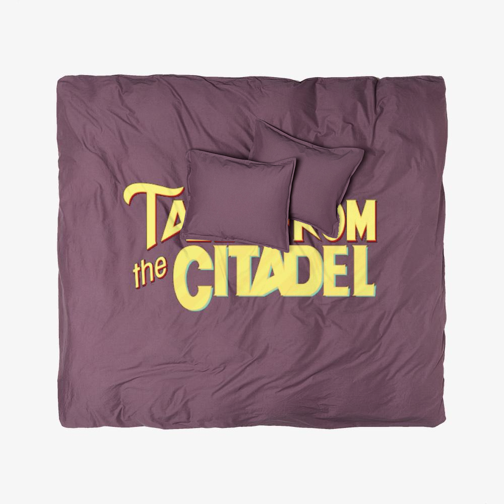 Tales From The Citadel, Rick And Morty Duvet Cover Set
