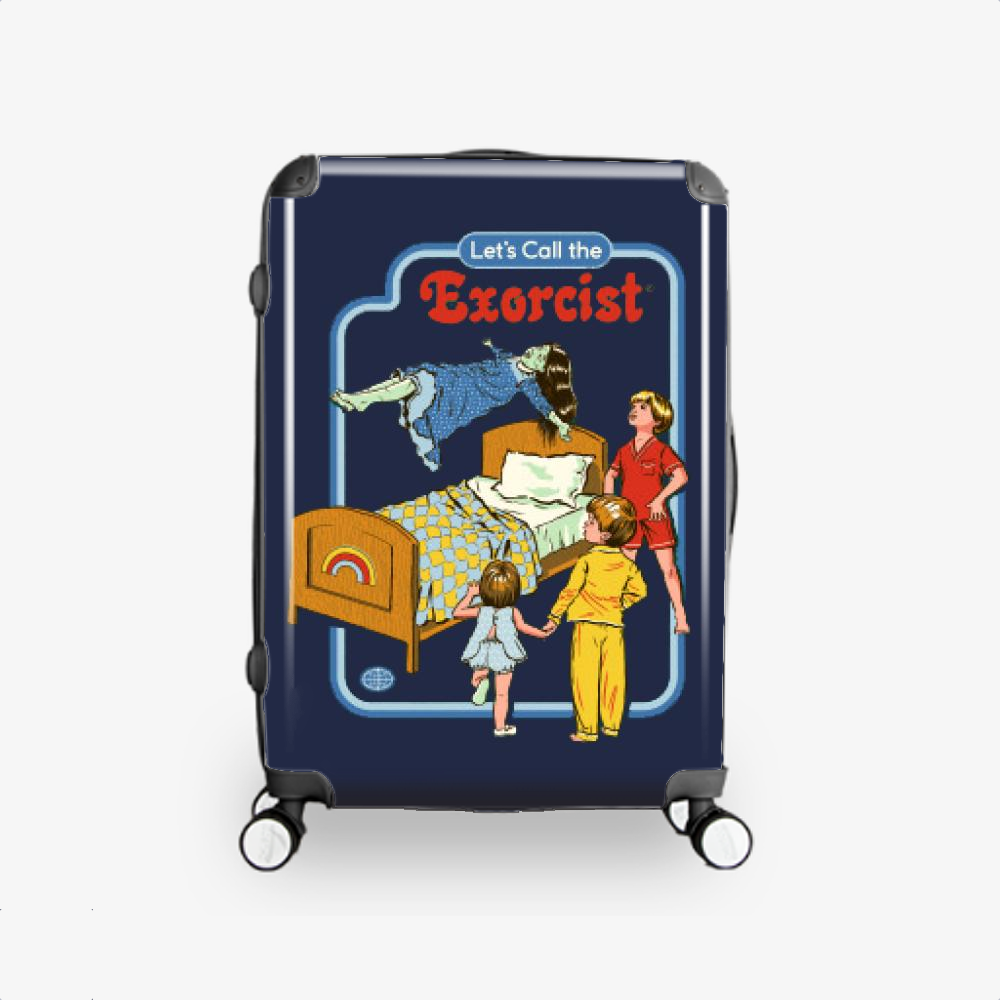 Call The Exorcist, Horror Film Hardside Luggage