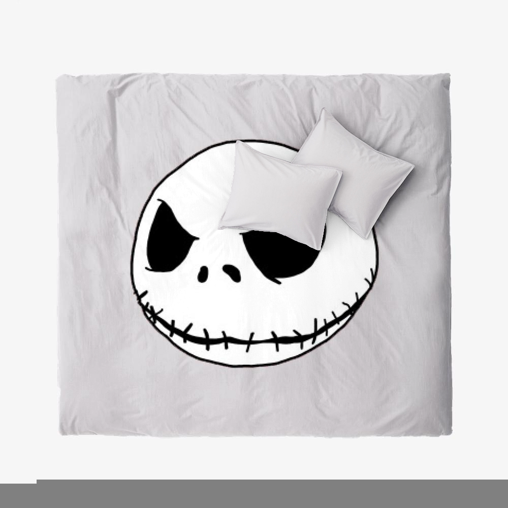 Halloween Jack, Jack Skellington Duvet Cover Set