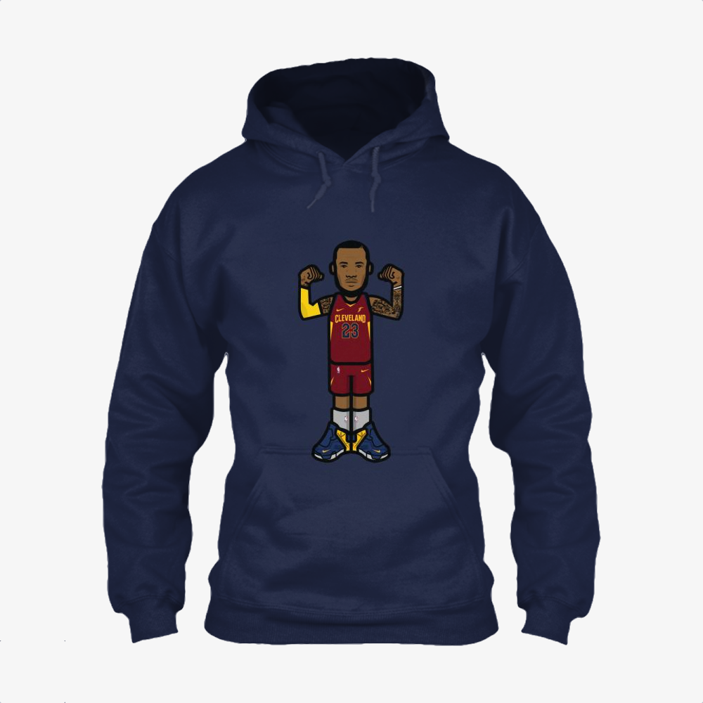 The King Enjoy, Lebron James Classic Hoodie