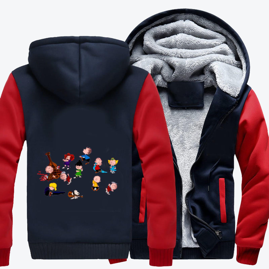 Charlie Brown Christmas Dance, Snoopy Fleece Jacket