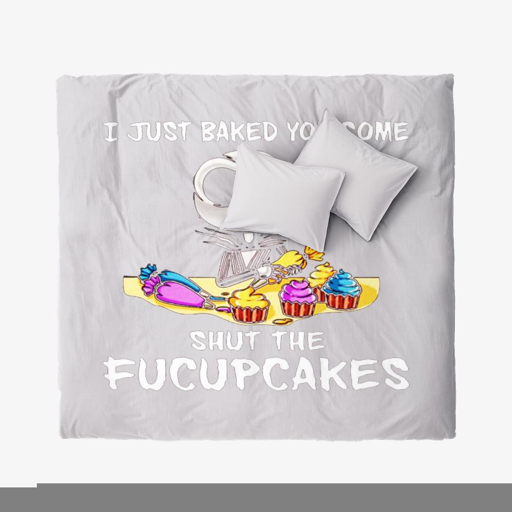 Fucupcakes, Jack Skellington Duvet Cover Set