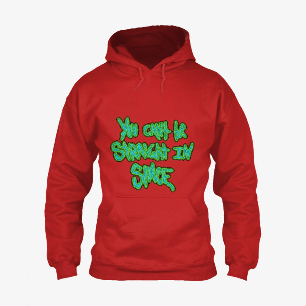 You Cant Be Straight In Space, Rick And Morty Classic Hoodie