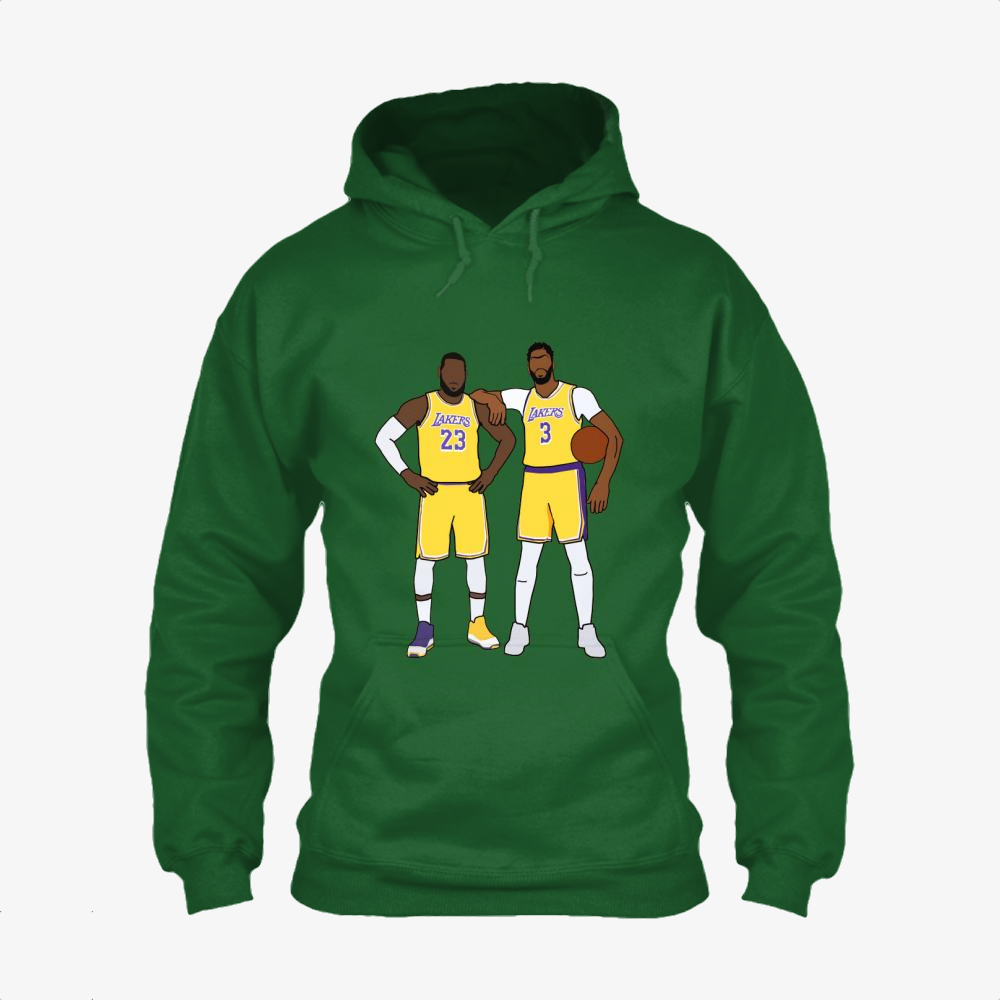 Los Angeles Lakers, Lebron James Classic Hoodie