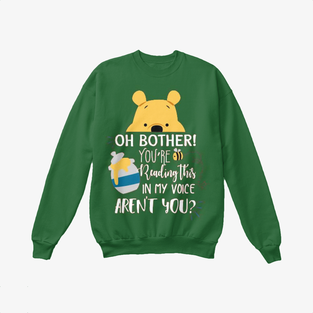Oh Bother, Winnie-the-pooh Crewneck Sweatshirt
