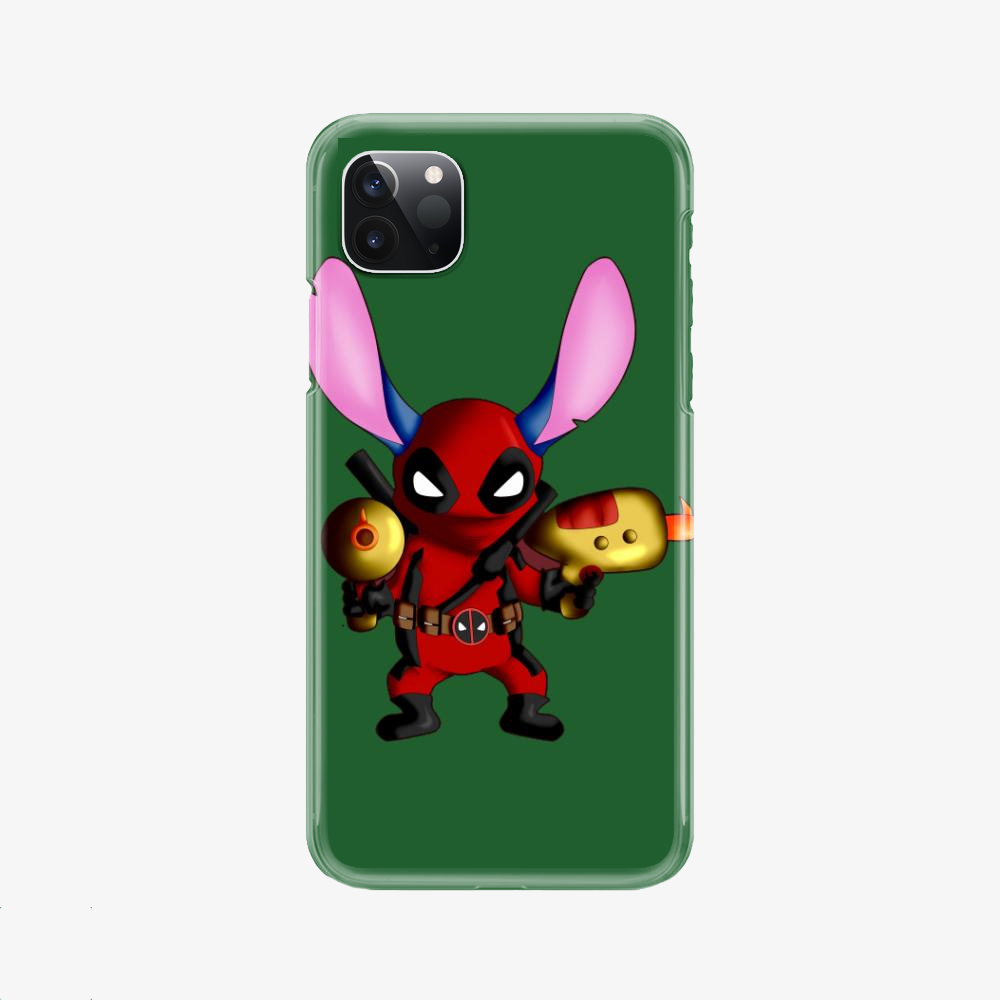 Stitch Deadpool Combined, Stitch Phone Case