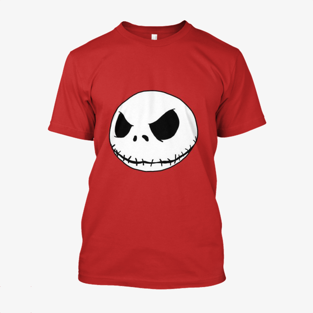 Halloween Jack, Jack Skellington Cotton T-Shirt