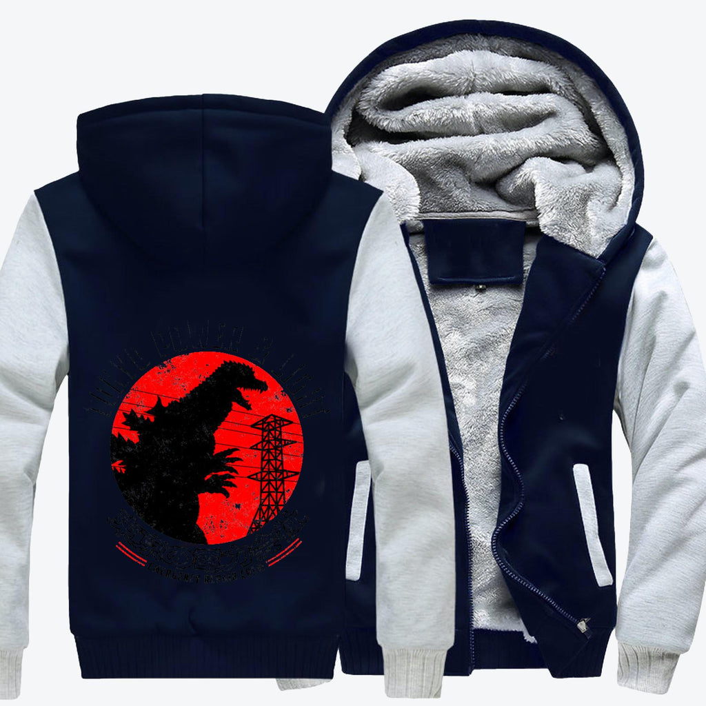 Tokyo Power And Light, Godzilla Fleece Jacket