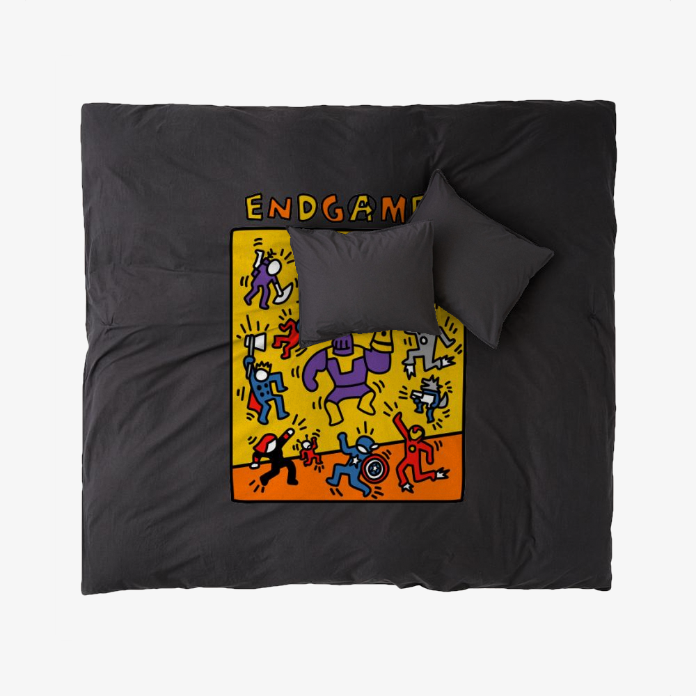 Pop Endgame, Keith Haring Duvet Cover Set