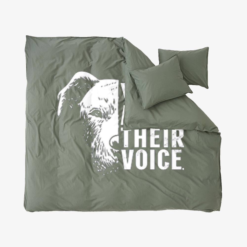 The Pitbull We Are Their Voice, Pitbull Duvet Cover Set