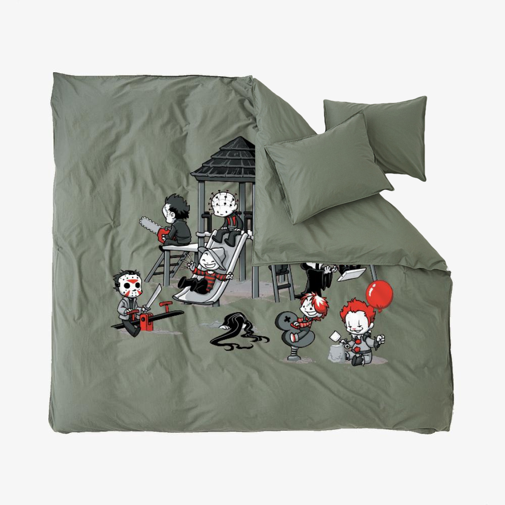 Horror Park, Horror Film Duvet Cover Set