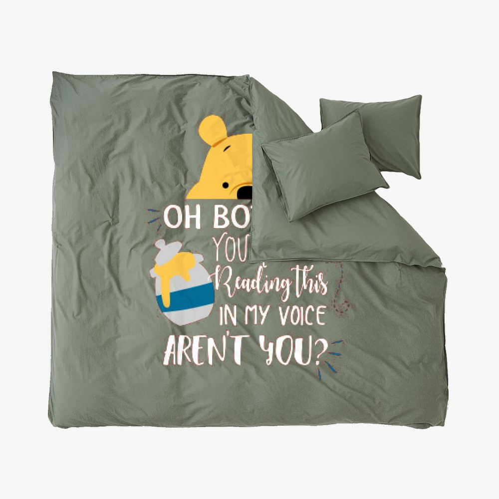 Oh Bother, Winnie-the-pooh Duvet Cover Set