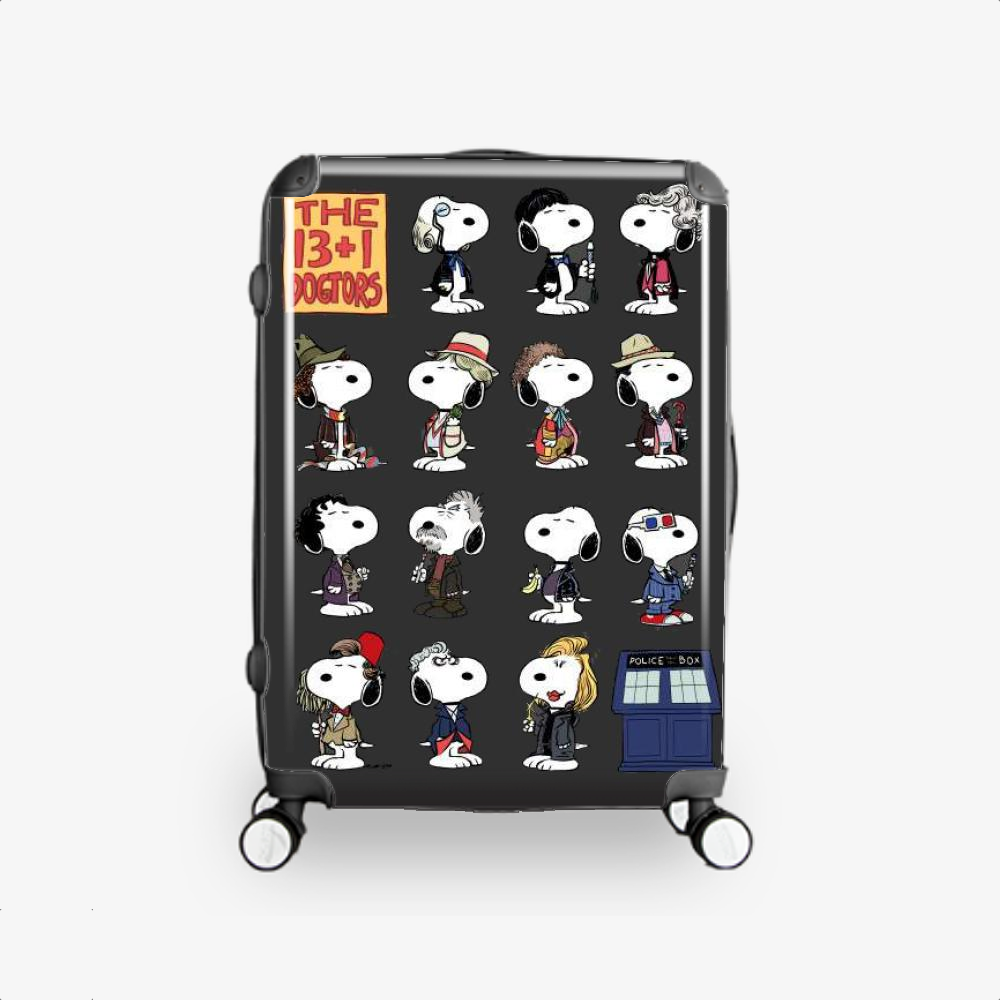 The 13 1 Dogtors, Snoopy Hardside Luggage