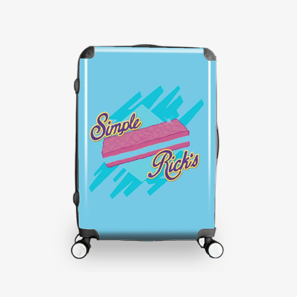 Simple Rick's, Rick And Morty Hardside Luggage