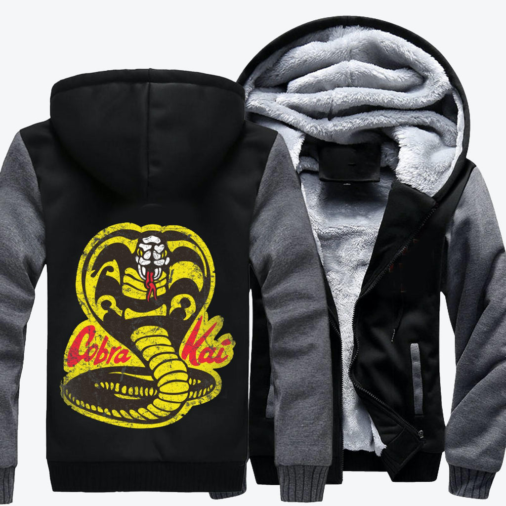 Cobra Kai, The Karate Kid Fleece Jacket
