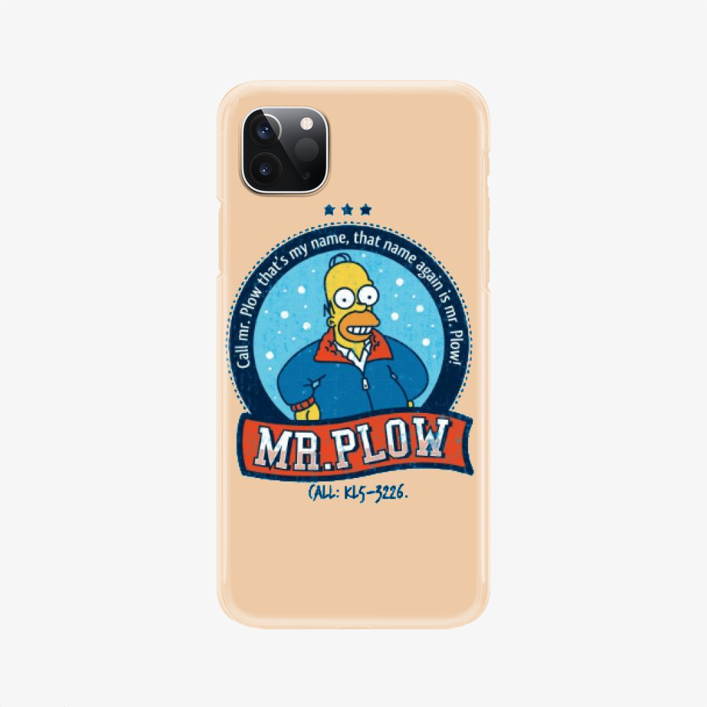 Call Mr Plow, The Simpsons Phone Case