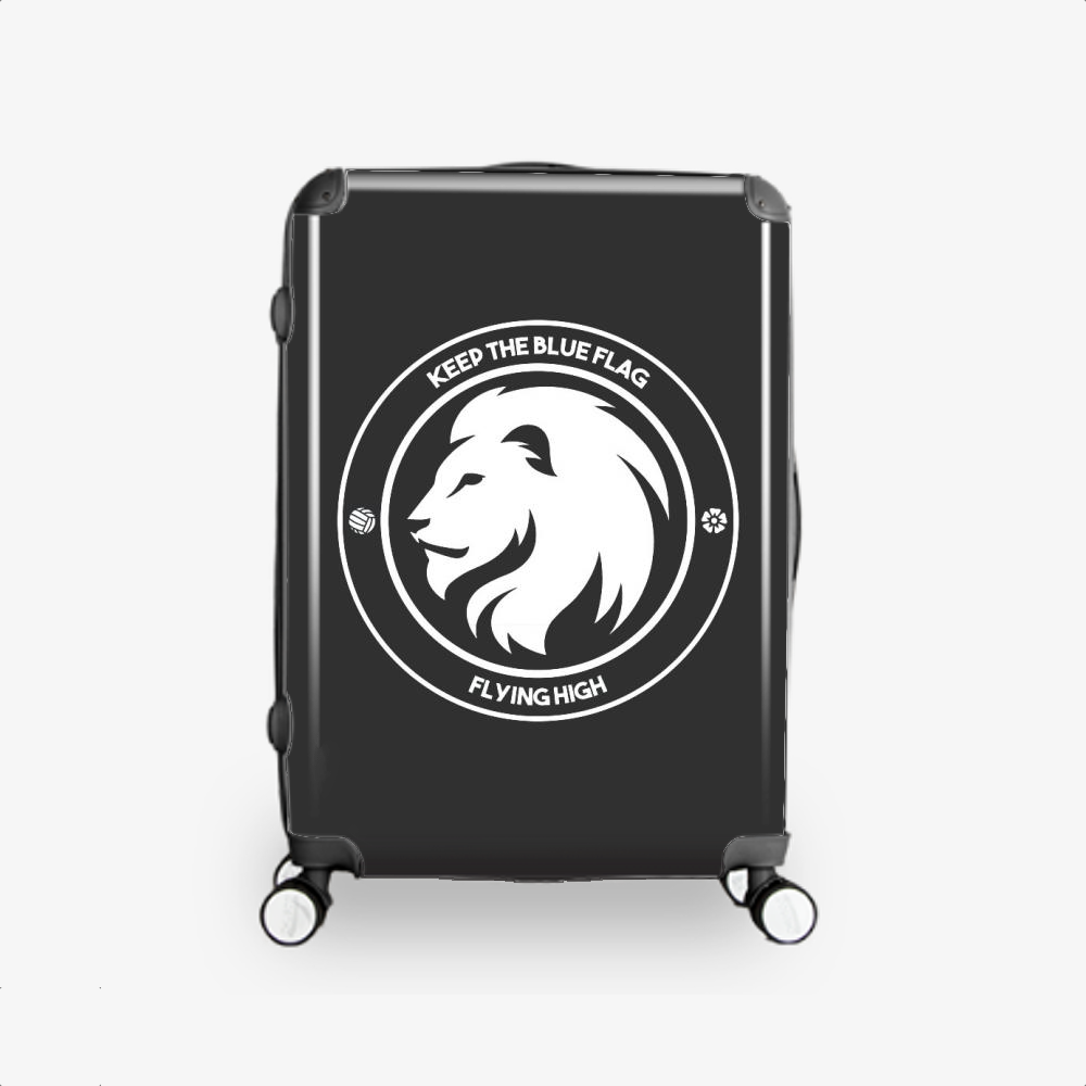 Keep The Blue Flag Flying High, Chelsea Fc Hardside Luggage