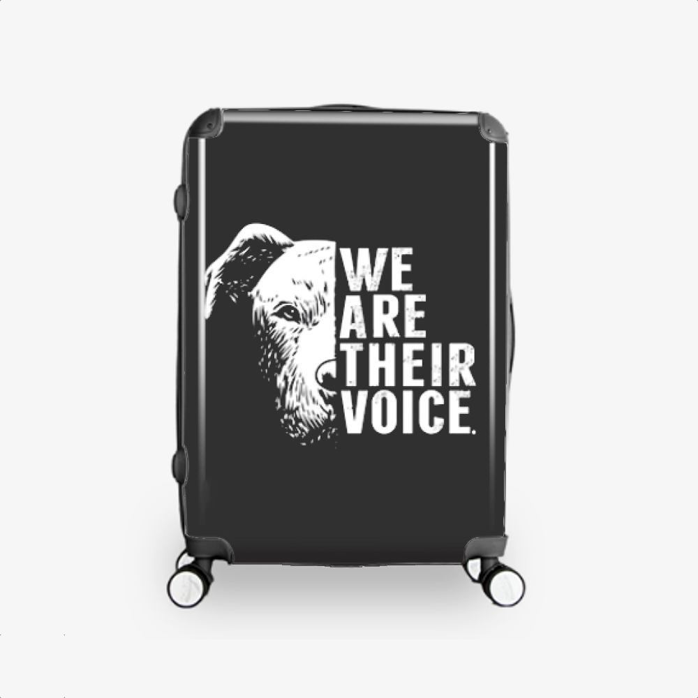 The Pitbull We Are Their Voice, Pitbull Hardside Luggage