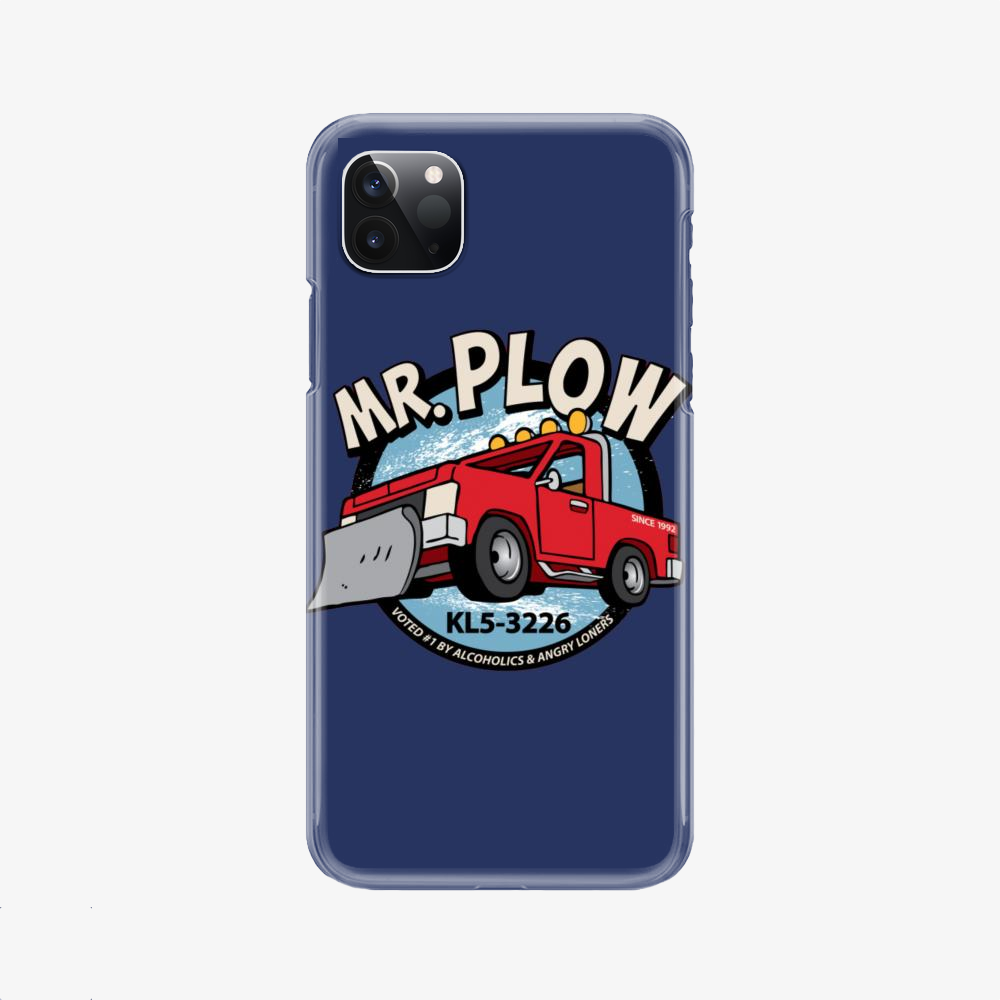 Mr. Plow Truck, The Simpsons Phone Case