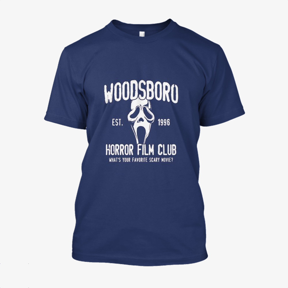 Woodsboro Horror Film Club, Horror Film Cotton T-Shirt