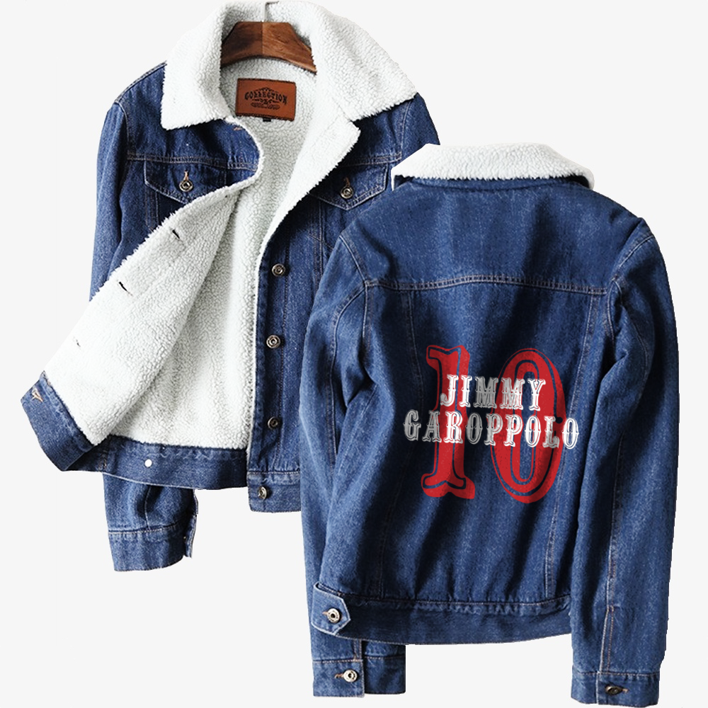 The Goat, Jimmy Garoppolo Classic Lined Denim Jacket