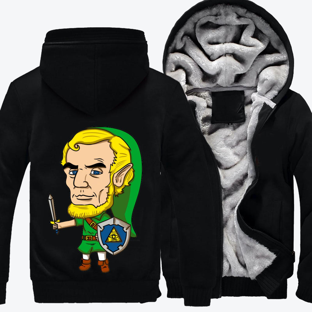 Abraham Linkolin, Abraham Lincoln Fleece Jacket