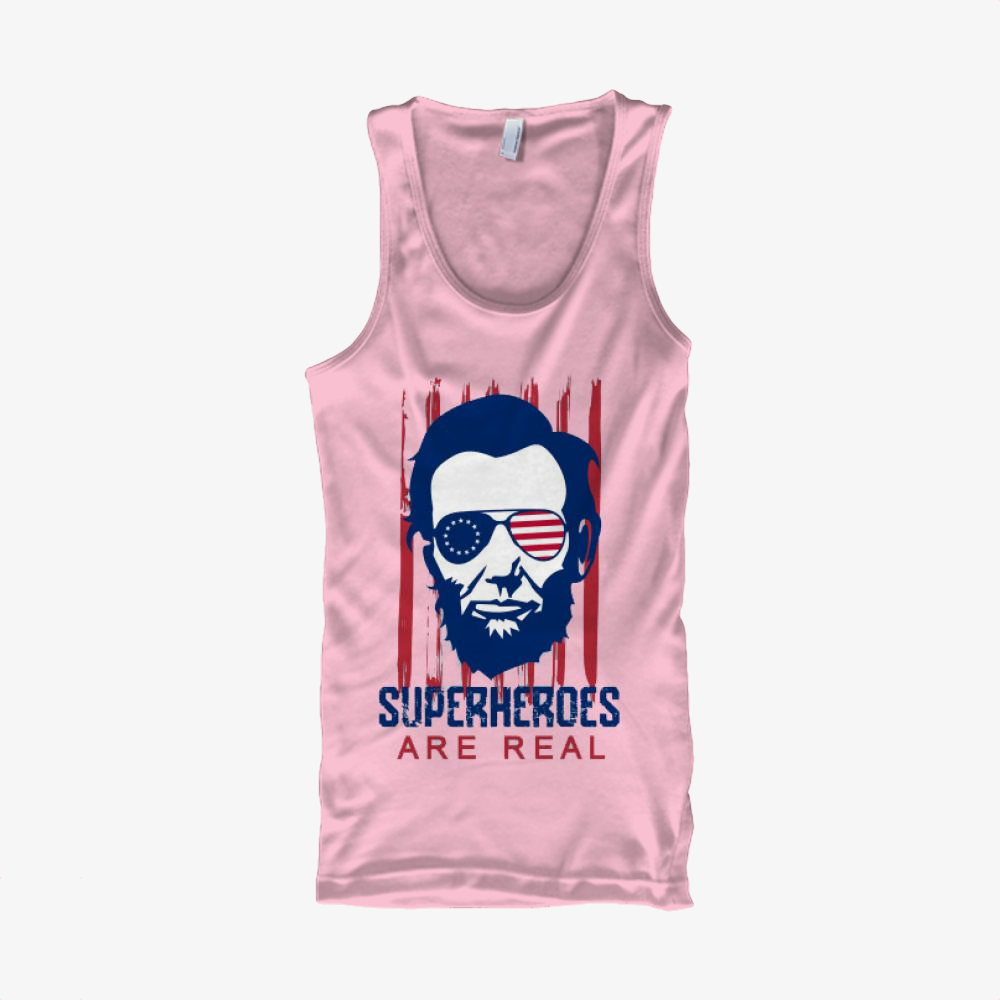 The Real Superhero, Abraham Lincoln Classic Tank Top