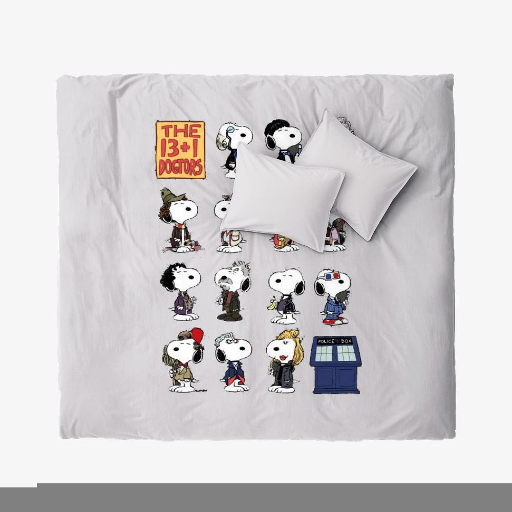The 13 1 Dogtors-1, Snoopy Duvet Cover Set