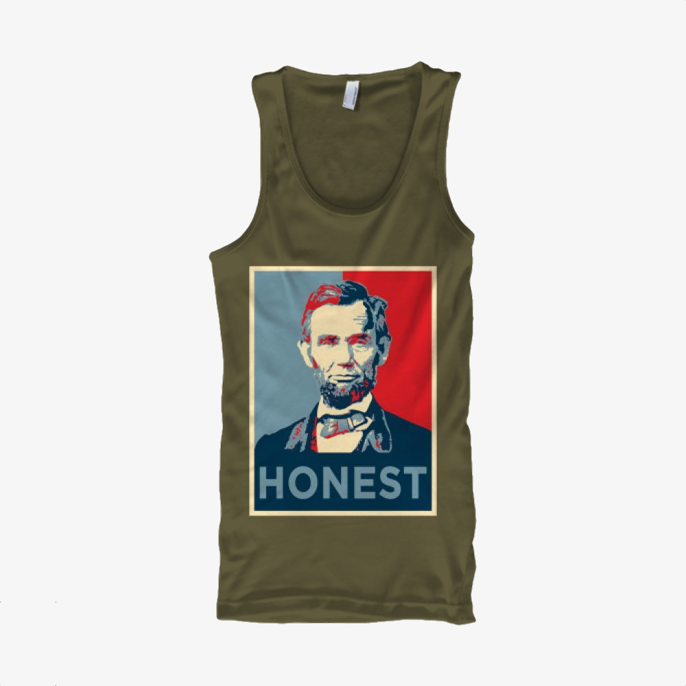 Honest Abe, Abraham Lincoln Classic Tank Top