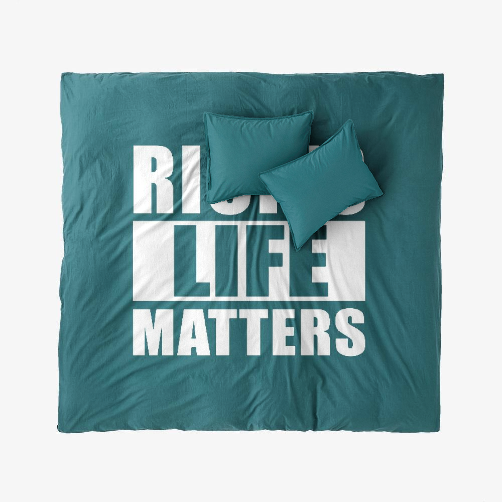 Rick's Life Matters, Rick And Morty Duvet Cover Set