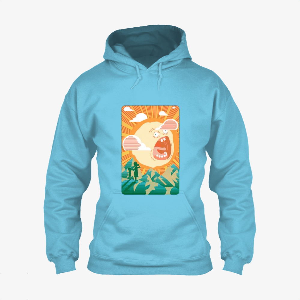 Rick And Morty Early Risin, Rick And Morty Classic Hoodie