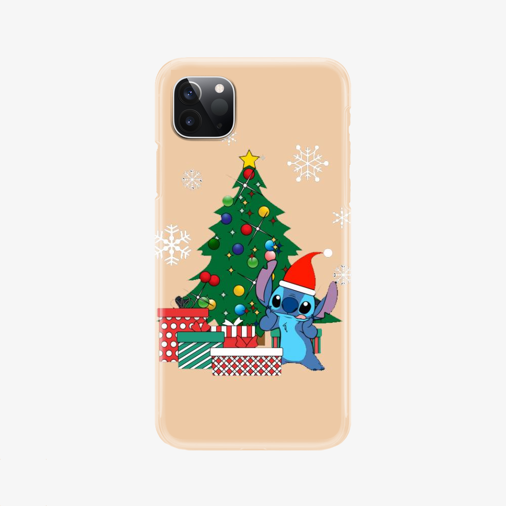 Stitch Christmas Tree Lilo And Stitch, Stitch Phone Case