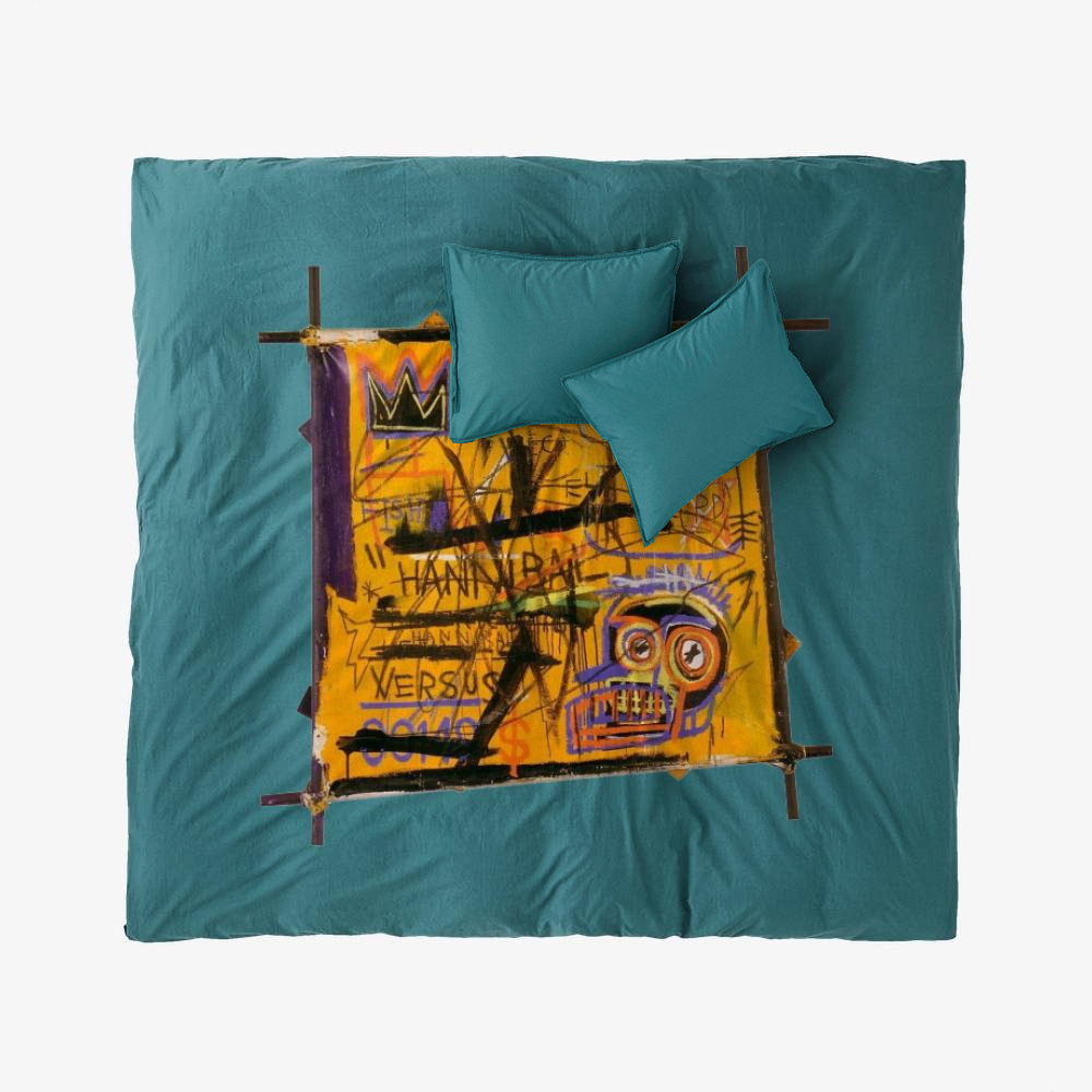 Basquiat Arts, Jean-michel Basquiat Duvet Cover Set