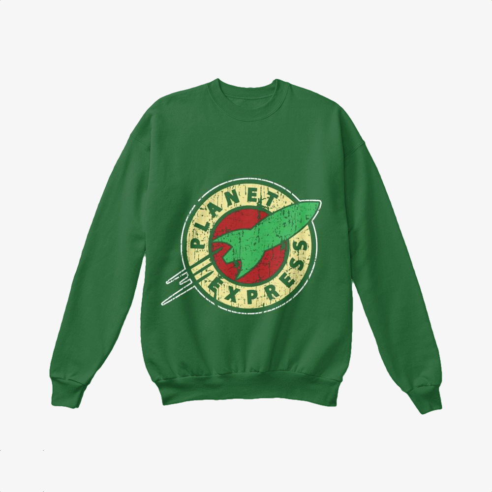 Planet Express, The Simpsons Crewneck Sweatshirt