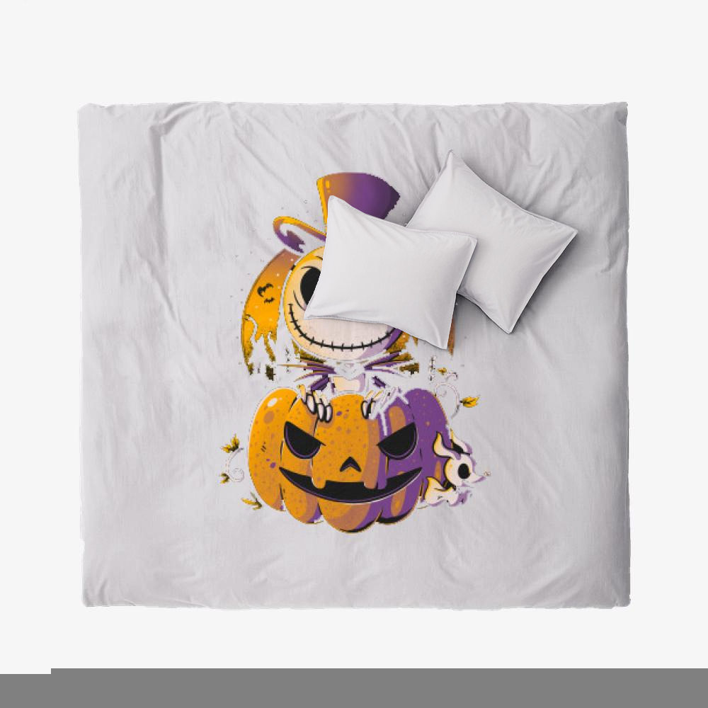 Spooky Jack, Jack Skellington Duvet Cover Set